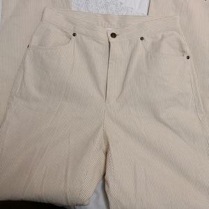 Liz Claiborne Jeans - Pinstriped mom jeans
